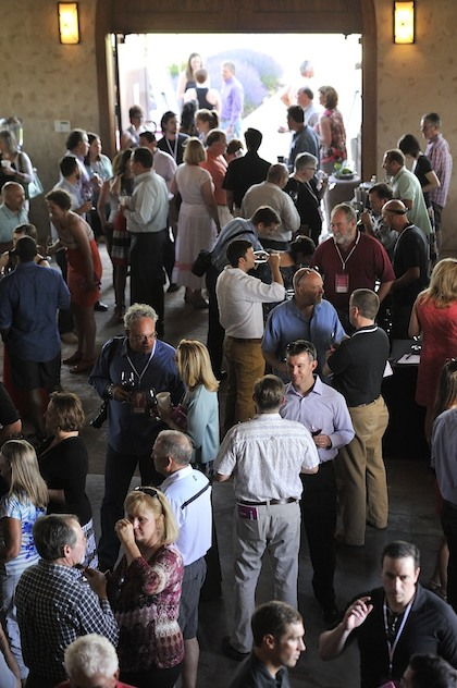 Garrison Creek Cellars in Walla Walla, Wash., played host to Vintage Pour of the Celebrate Walla Walla Valley Wine — The World of Syrah on Thursday, June 19, 2014.