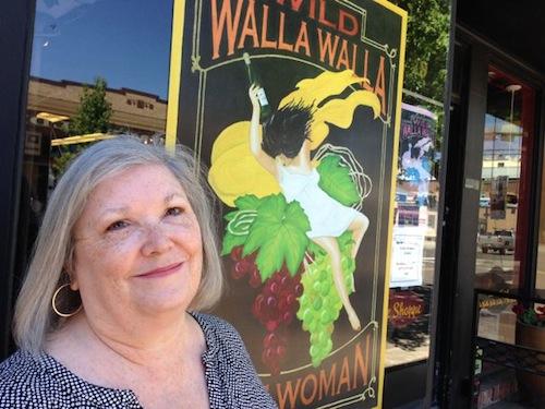 Catie McIntyre Walker owns Wild Walla Walla Wine Woman wine shop.