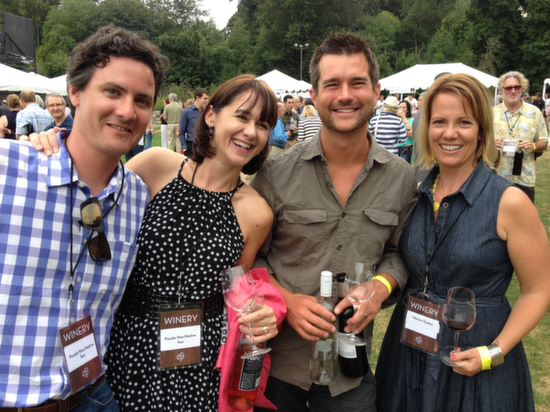 More than 100 winemakers poured during the Auction of Washington Wines' Picnic and Barrel Auction on Thursday, Aug. 14, 2014 at Chateau Ste. Michelle in Woodinville.