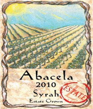 Abacela-Estate Syrah-2010-label