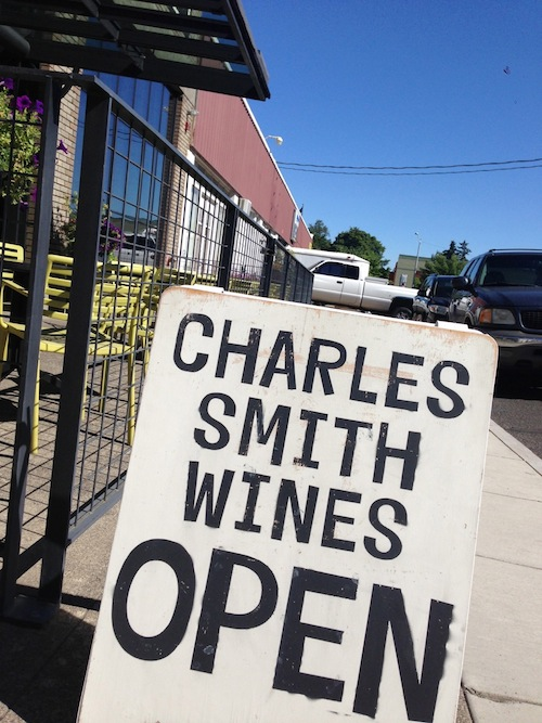 Charles Smith Wines tasting room is in downtown Walla Walla.