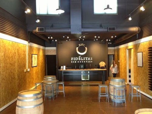 Charlie Hoppes opened a tasting room for Fidelitas Wines in Woodinville, Washington.
