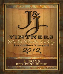 j&j-vintners-walla-walla-valley-les-collines-vineyard-4-boys-red-wine-2012-label