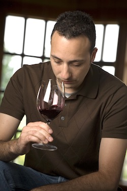 Juan Muñoz-Oca is the head winemaker for Columbia Crest in Paterson, Washington.