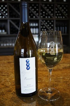 Ledger David Cellars spotlights estate Chenin Blanc fruit in its Primoris bottling.