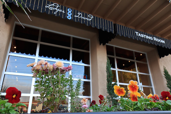 Ledger David Cellars' Le Petit Tasting Room is near the Rogue Creamery and Lillie Belle Farms in Central Point, Ore.