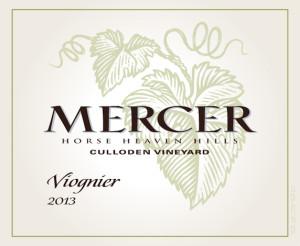 Mercer Estates 2013 Culloden Vineyard Viognier label