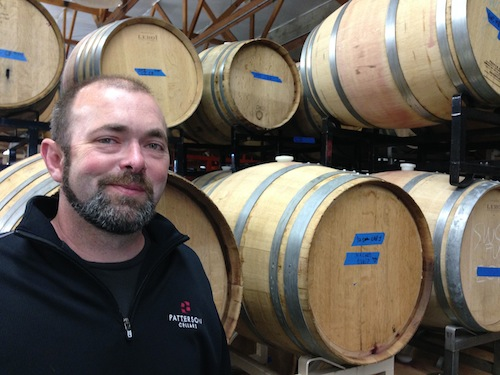 Patterson Cellars is in Woodinville, Washington.