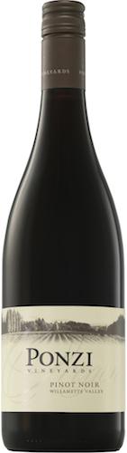 Ponzi Vineyards Pinot Noir, Willamette Valley