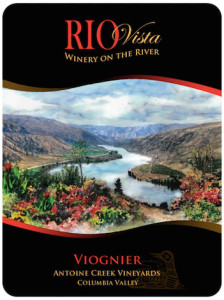 Rio Vista Wines Antoinie Creek Vineyard Viognier label