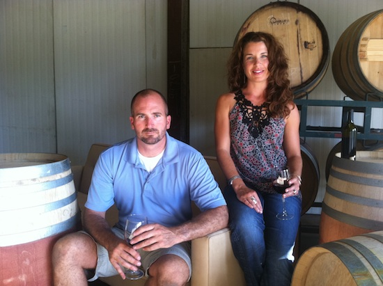 Boise residents Earl and Carrie Sullivan make wine in Washington's Columbia Valley and Idaho's Snake River Valley for Telaya Wine Co.