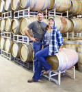 Earl Sullivan, a biochemist, and his veterinarian wife, Carrie, moved to Boise, Idaho to raise their family and launch Telaya Wine Co. (Photo courtesy of Telaya Wine Co.)