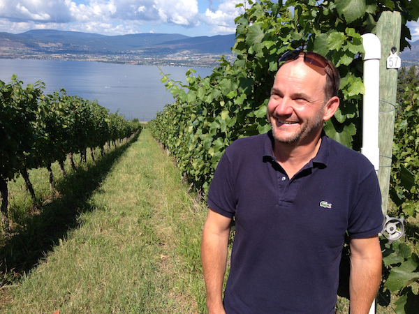 Andy Gebert, winemaker and co-owner of St. Hubertus Estate Winery and Oak Bay in Kelowna, British Columbia, served in the Swiss army before joining his brother in 1990 and launching their winery.