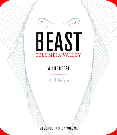 beast-wildebeest-red-wine-label-nv