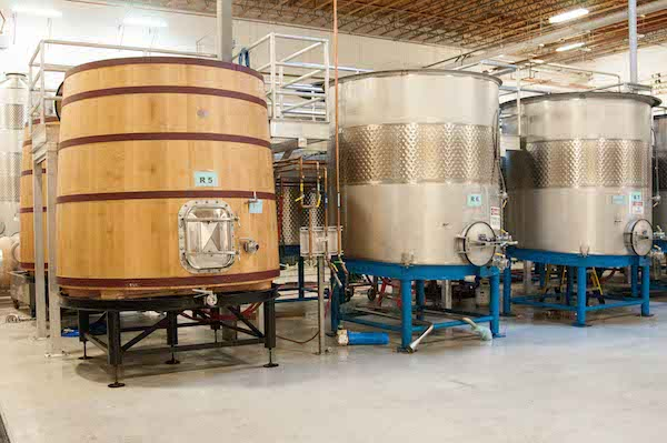 Chateau Ste. Michelle's new Reserve Cellar at its Canoe Ridge Estate red winemaking facility has begun working with different formats of fermenters.