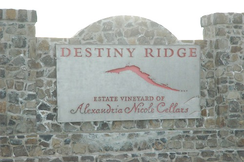 Alexandria Nicole Cellars and Destiny Ridge Vineyard