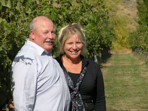Blain and Kim Roberts of Westport Winery