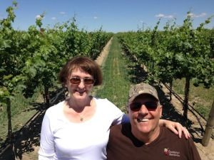 Paul and Judy Champoux have run Champoux Vineyards since 1989.