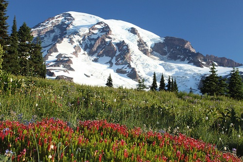 Sean Sullivan teaches Mount Rainier climbing classes.