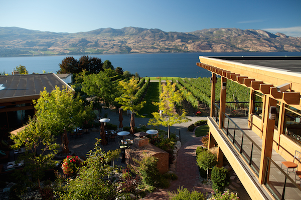 Quails' Gate Estate Winery in West Kelowna, British Columbia, features 125 acres of vineyards, a critically acclaimed restaurant and a recently remodeled tasting room with views of Okanagan Lake.