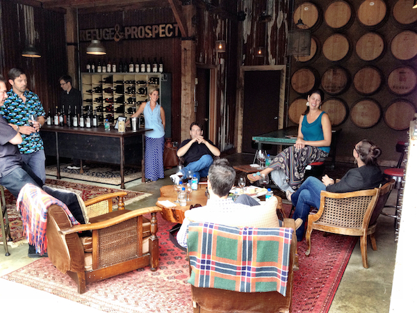 Refuge and Prospect Winery first rolled up the garage door to its tasting room in the Woodinville Warehouse District in the spring of 2014.