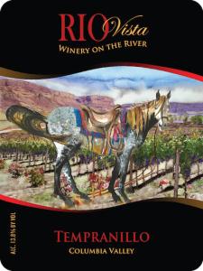 rio vista wines tempranillo label nv 225x300 - Rio Vista Wines 2012 Tempranillo, Lake Chelan, $32