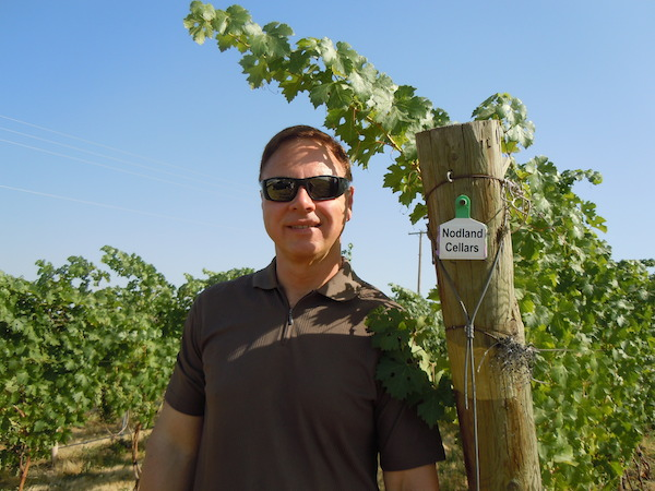 Tim Nodland of Nodland Cellars in Spokane relies on vineyards in the Walla Walla Valley such as Pepper Bridge and Seven Hills as well as Gamache Vineyard near White Bluffs of the Columbia River.