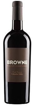 Browne Family Vineyards-Petit Verdot-2011-Bottle