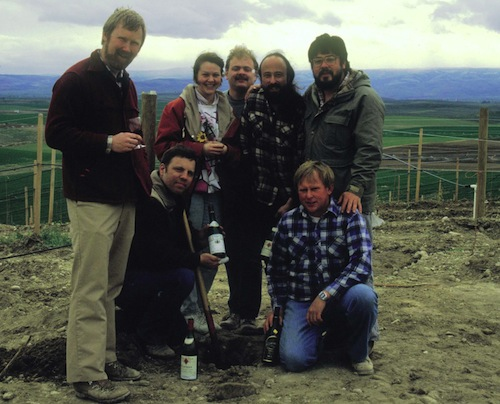 David Lake and Mike Sauer were the first in Washington to plant Syrah.