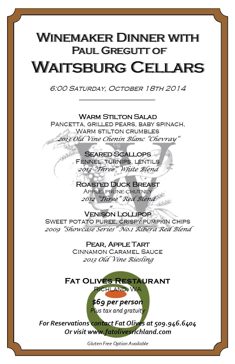 Waitsburg Cellars 10.18.14