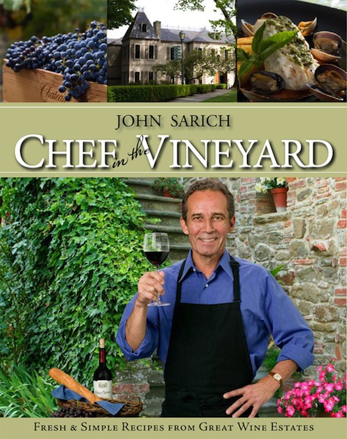 John Sarich wrote Chef in the Vineyard.