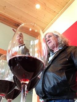 Harrison Hill winemaker Chris Upchurch.