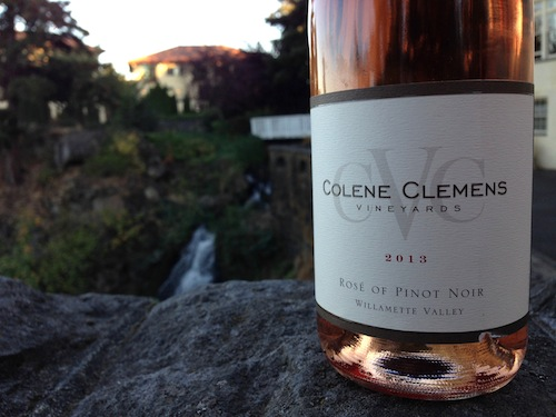 Colene Clemens rosé wins best rosé of the 2014 Great Northwest Invitational Wine Competition.