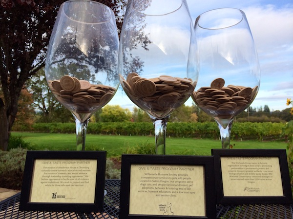 Fries Family Wines recently launched its Give and Taste Program, which uses the tasting fee for specific small-lot wines to raises funds for non-profits.