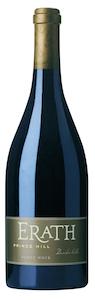 Erath Winery Prince Hill Pinot Noir label