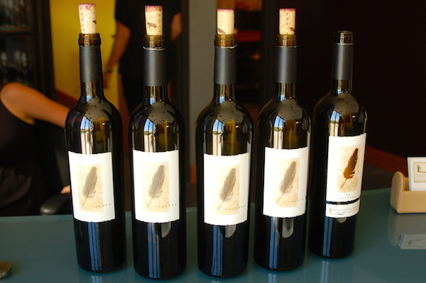 Napa Valley vintner Randy Dunn has produced Cabernet Sauvignon from Columbia Valley fruit under the Feather brand for Long Shadows Vintners in Walla Walla, Wash., starting with the 2003 vintage.