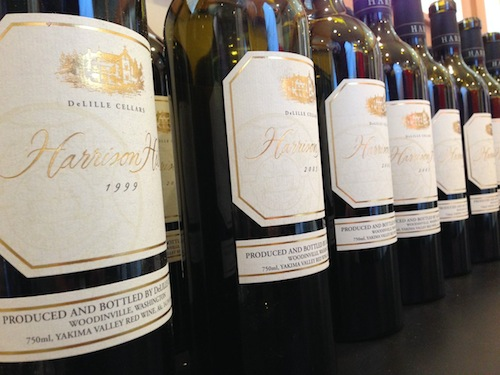Harrison Hill vertical with Chris Upchurch of DeLille Cellars.