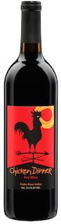 Huston Vineyards Chicken Dinner Red bottle