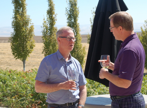 It took John Duval a total of 32 hours of traveling from Australia to attend a vertical tasting staged Sept. 12, 2014, at Long Shadows Vintners in Walla Walla, Wash., featuring Syrah he made under the Sequel brand