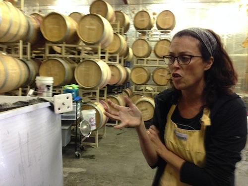 Leslie Preston of Coiled Wines near Boise, Idaho.
