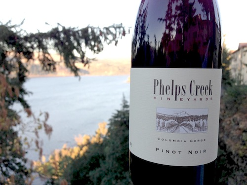 Phelps Creek Pinot Noir wins Columbia Gorge Wine Competition