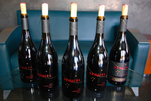 A vertical tasting staged Sept. 12, 2014, at Long Shadows Vintners in Walla Walla, Wash., featured a lineup of Syrah — starting with the 2003 vintage — made under the Sequel brand by Australia's John Duval of Penfolds Grange fame.