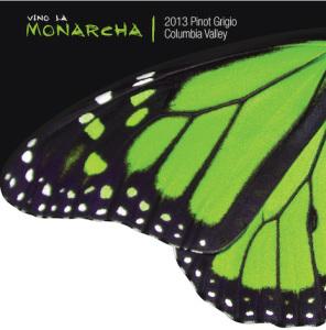 Vino La Monarcha 2013 Pinot Grigio label