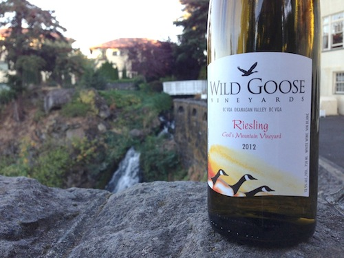 Wild Goose Vineyards Riesling won best of show at the Great Northwest Invitational Wine Competition.