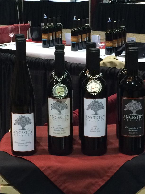 Ancestry Cellars won best of show at the Tri-City wine fest.