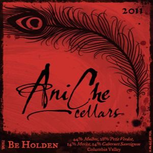 AniChe Cellars 2011 Be Holden label