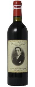 Don Carlo Vineyard Estate Cabernet Sauvignon bottle