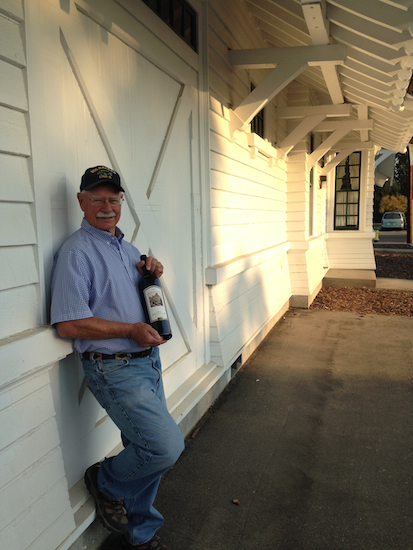 Dr. Hugh Shiels, who has been an orthopedic surgeon in Sunnyside, Wash., since 1976, is closing his practice next month and turning a former Union Pacific train station into a tasting room for his Côte Bonneville winery.