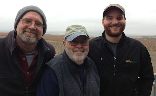 Scott, John and JJ Williams of Kiona Vineyards & Winery
