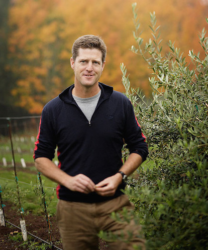 Paul Durant grows olives in Oregon's Dundee Hills.